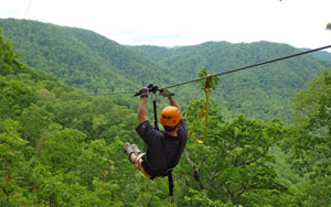 The Gorge Zipline Canopy Tour in Saluda is Steepest, Fastest in U.S.