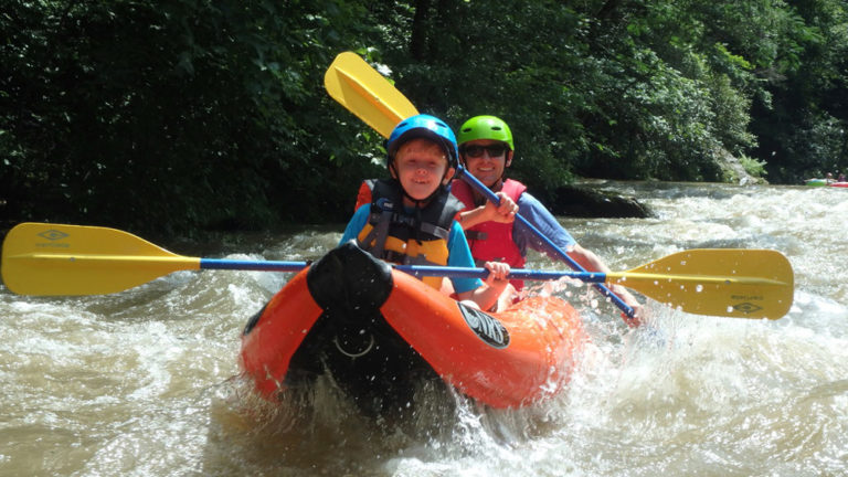 On the River with Green River Adventures Saluda N.C.