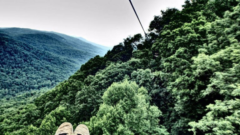 The Gorge Zipline Saluda N.C.
