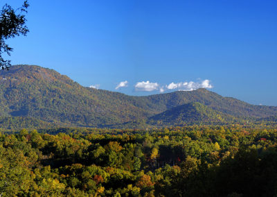 Polk Co Chocolate Drop Mountain Panorama