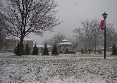 Columbas NC Snowy Winter