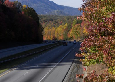 Fall Mountain Roads
